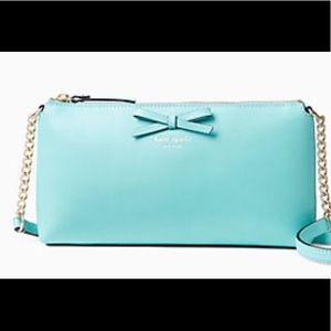 Kate Spade Aqua Crossbody Bag NWT